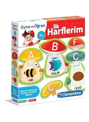 Clementoni Clementoni Oyna ve Öğren İlk Harflerim 64429 Renkli